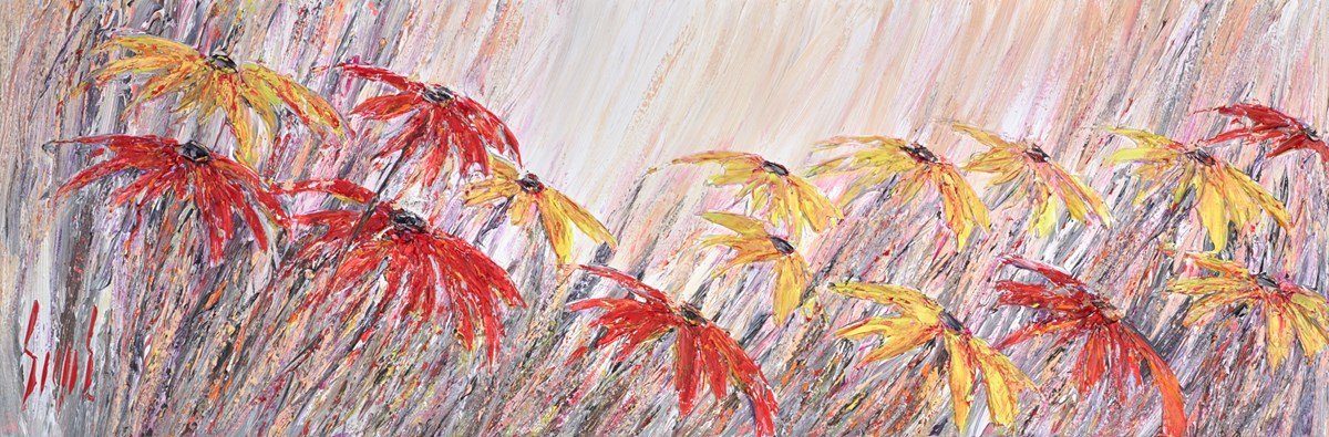 Honey Glow II by carl scanes -  sized 47x16 inches. Available from Whitewall Galleries